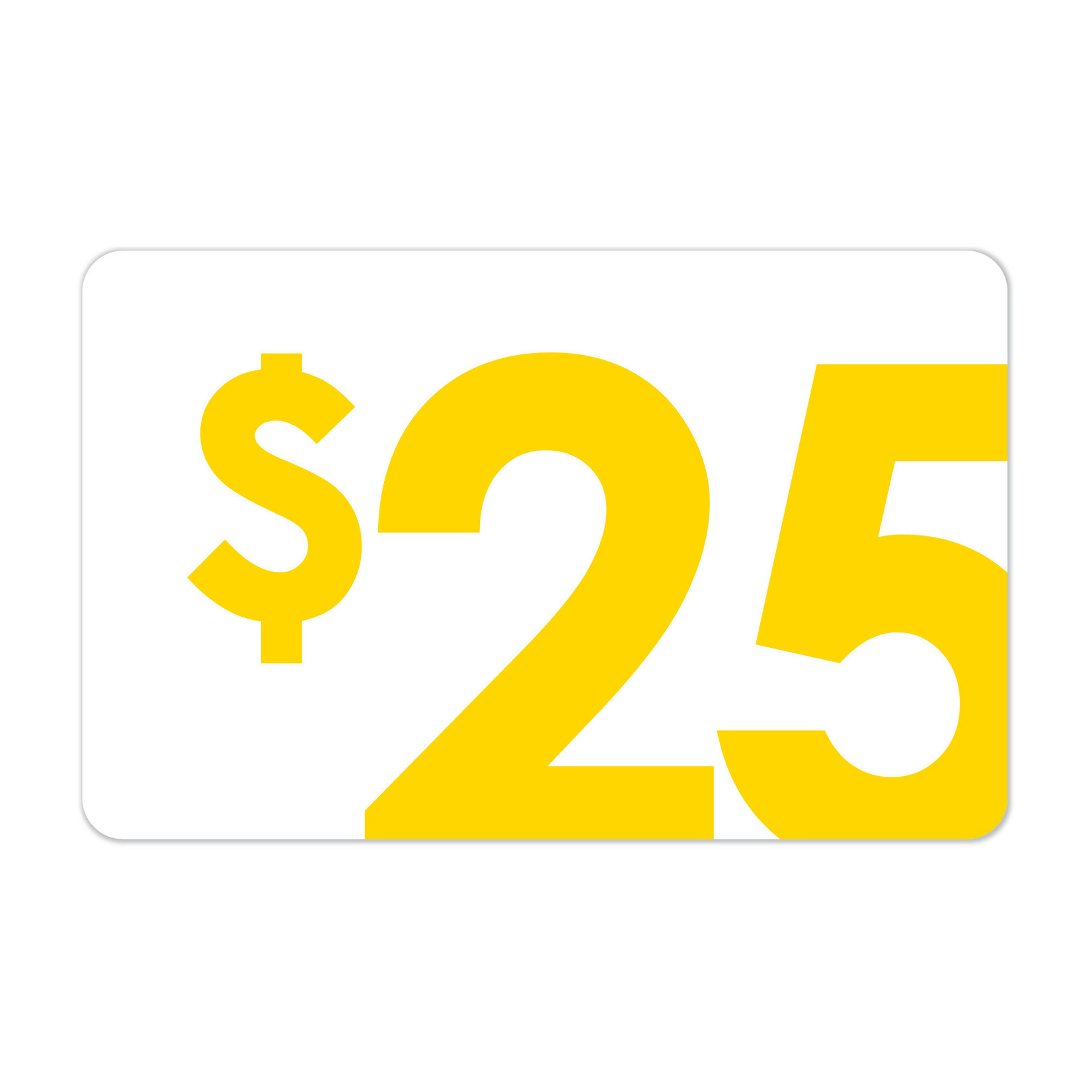 [Gift Cards] $25 Gift Card