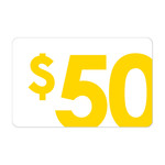 [Gift Cards] $50 Gift Card