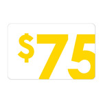 [Gift Cards] $75 Gift Card
