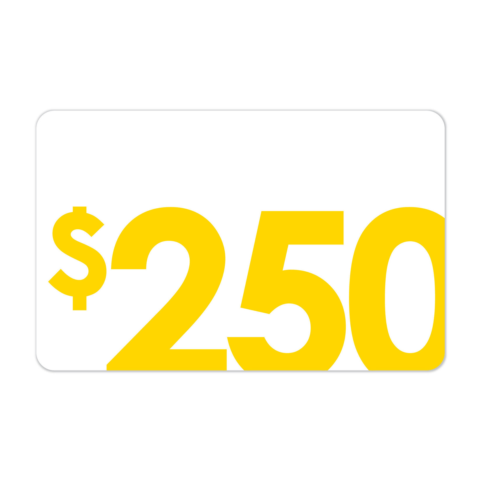 [Gift Cards] $250 Gift Card