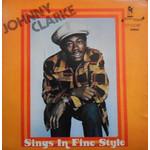 Clarke, Johnny: Sings In Fine Style