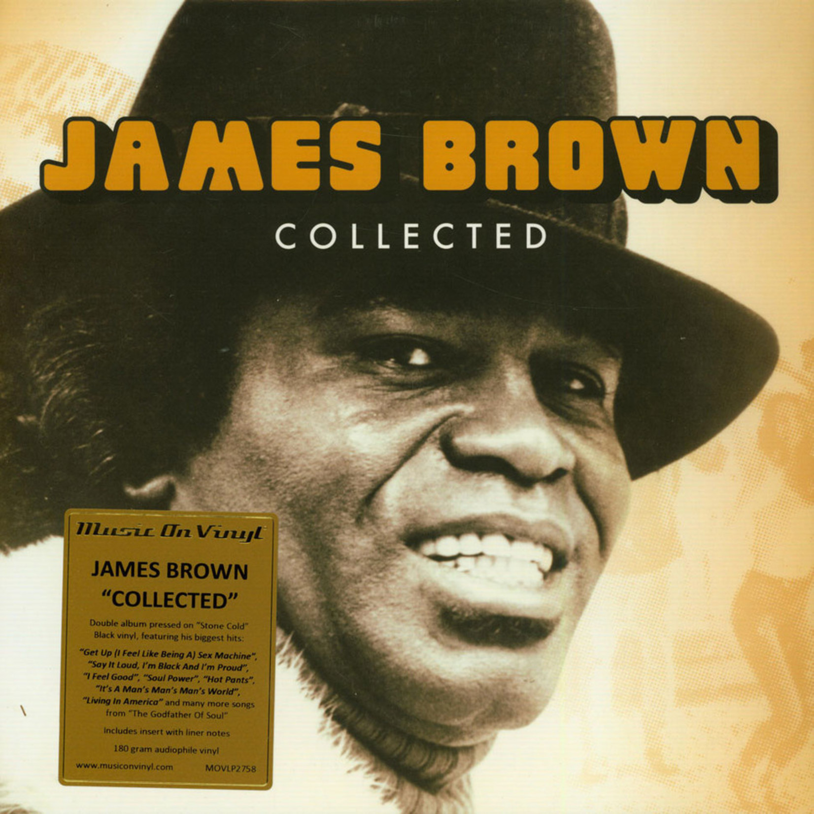 Brown, James: Collected (2LP) [MUSIC ON VINYL]