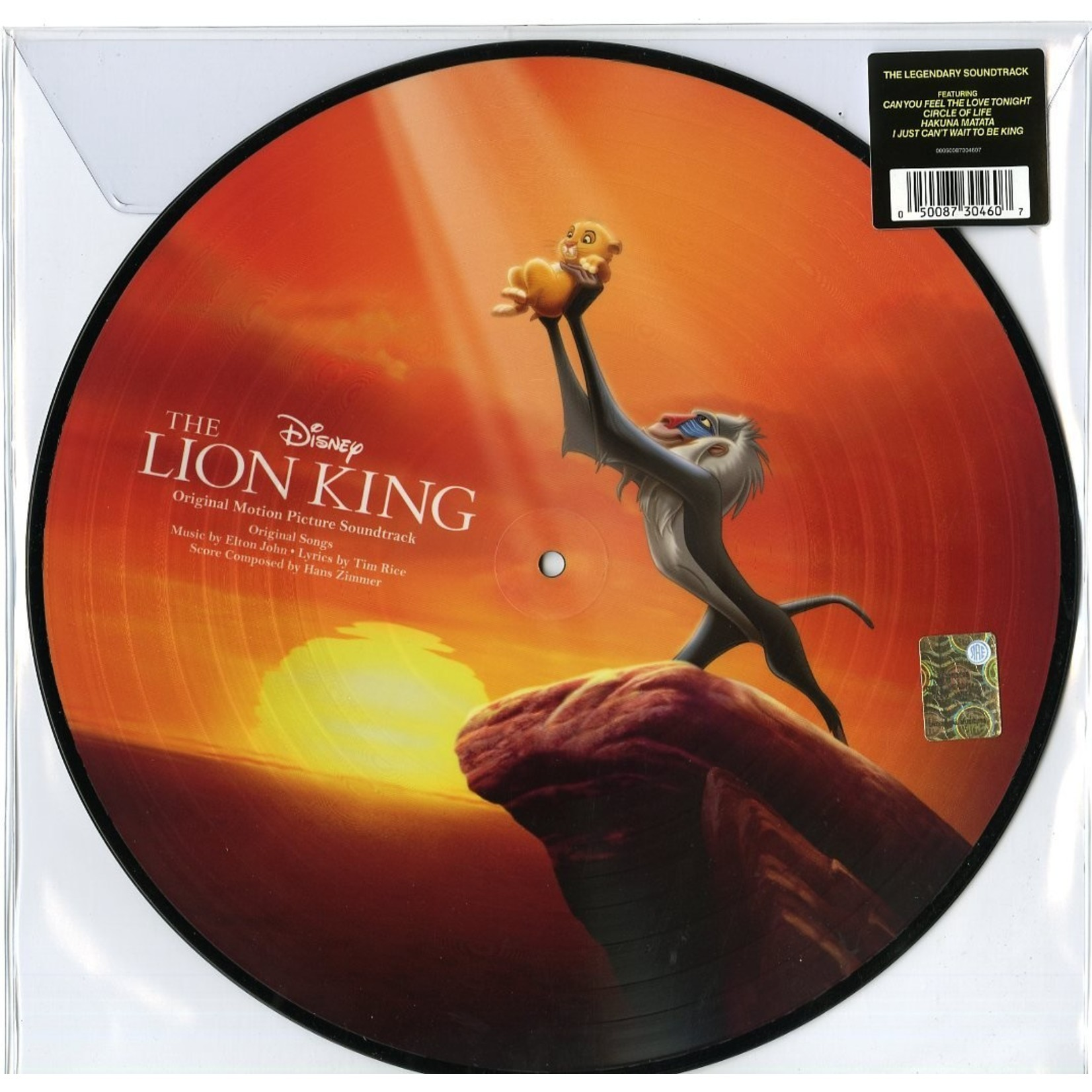 Various Artists: The Lion King (picture disc) [DISNEY]