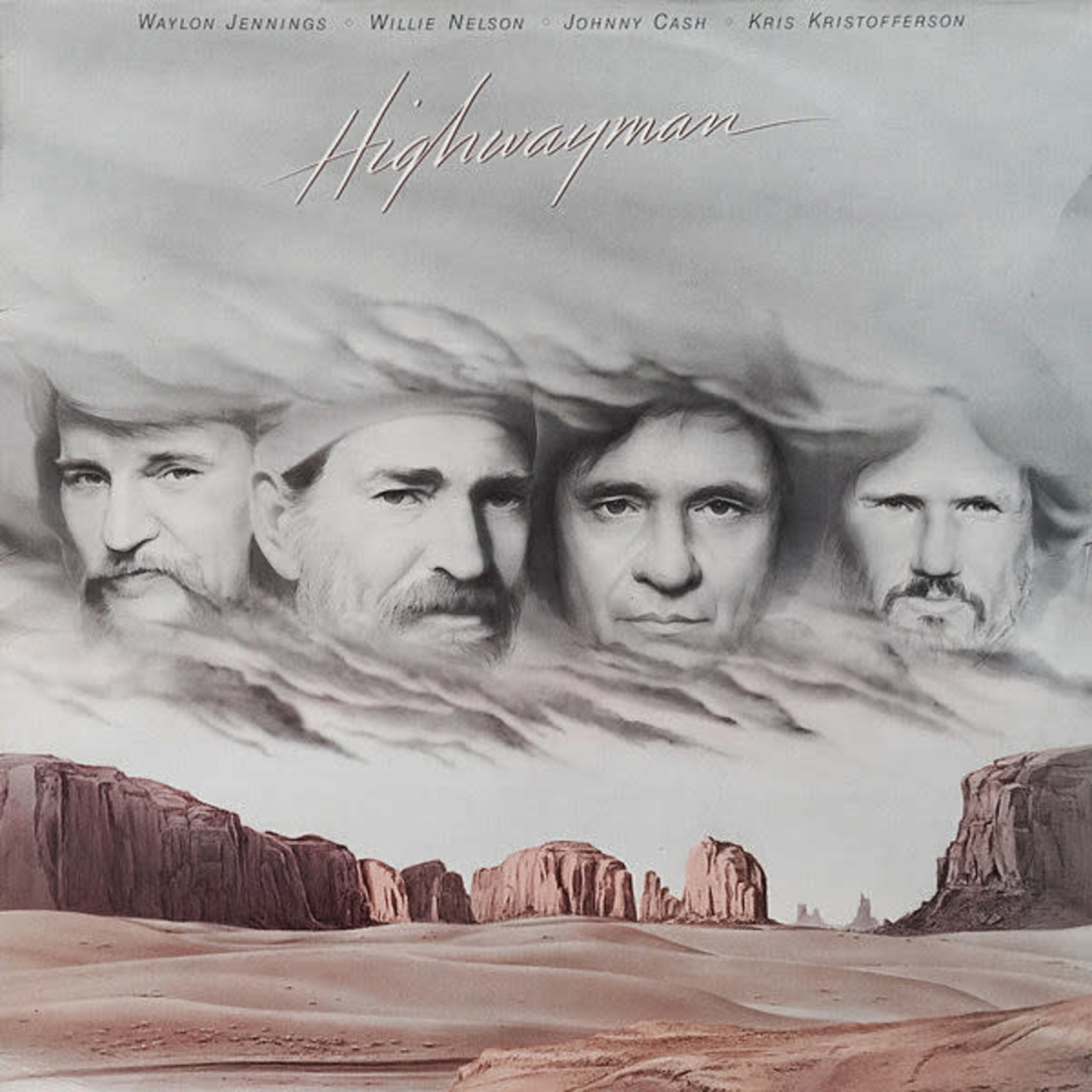 Highwaymen, The: Highwayman (CLEAR VINYL) [LP, Sundazed Music, Inc.]