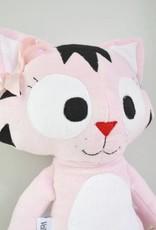 Veille sur toi Peluche chat - Charlotte