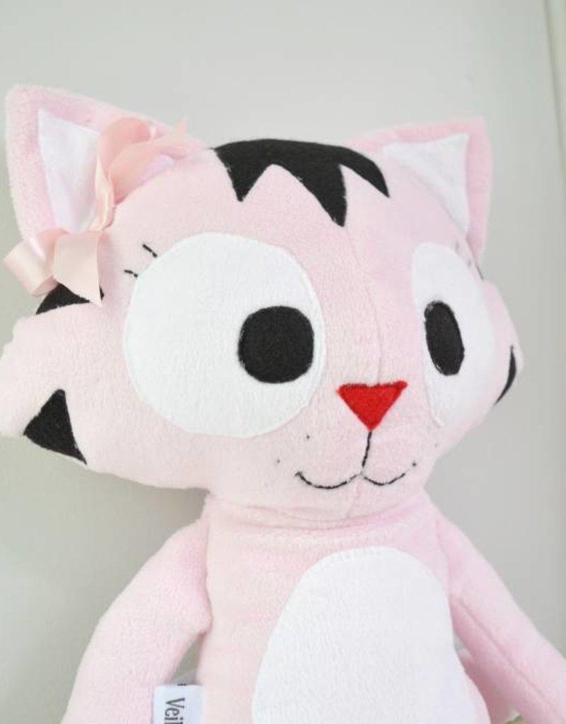 Veille sur toi Cat plush - Charlotte