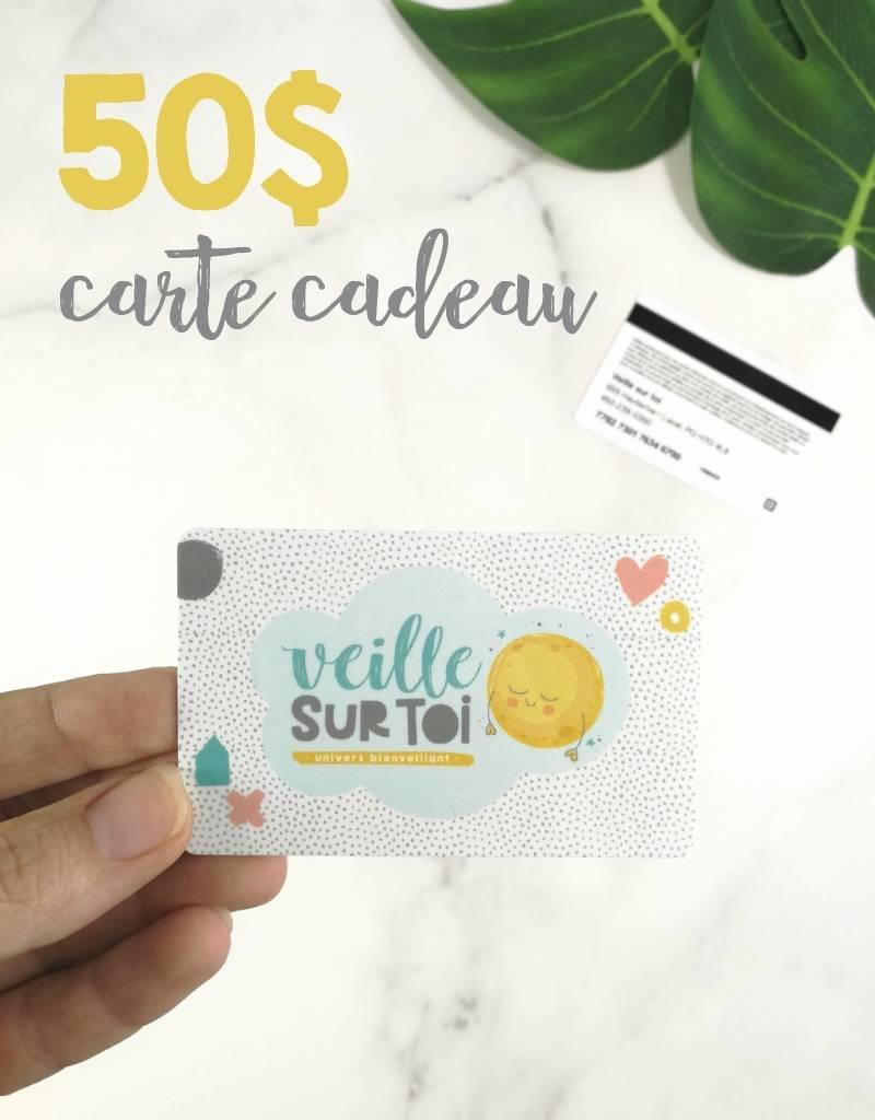 Veille sur toi Carte cadeau - 50$
