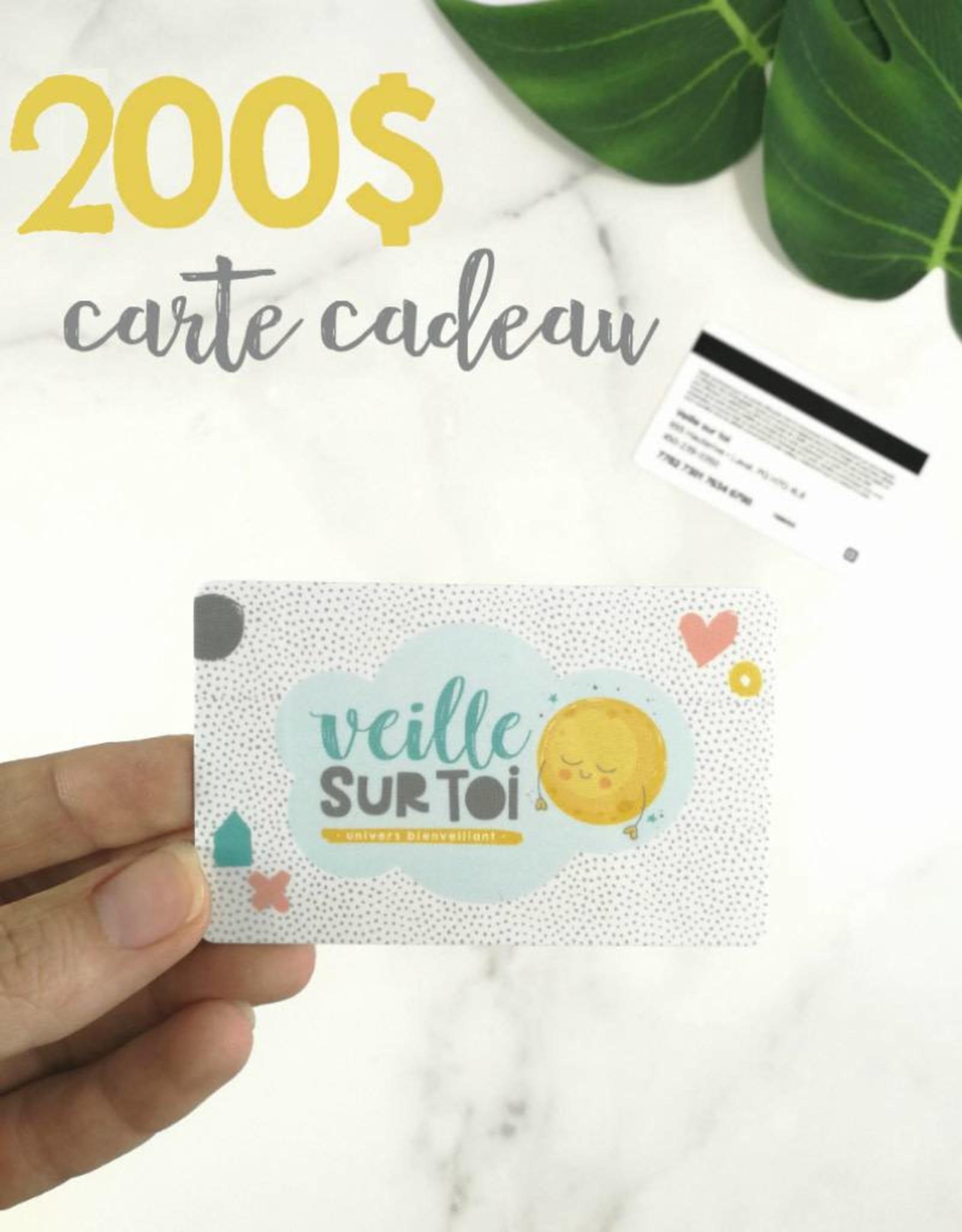 Veille sur toi Gift Card - 200$