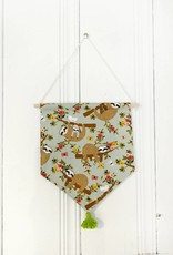 MLaure Decorative banner - Sloths