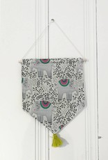 MLaure Decorative banner - Elephant