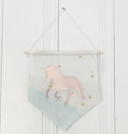 MLaure Decorative banner - Unicorn