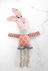 Créations Mirepoix Plush - Pink rabbit