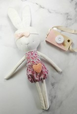 Kiou Kiout Plush - Rabbit with flowery dress