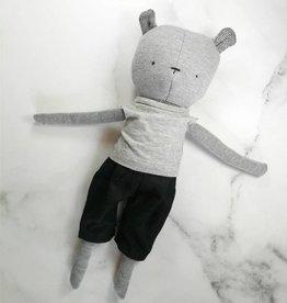 Kiou Kiout Plush - Bear with t-shirt