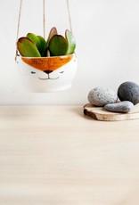 Noe Marin Ceramiste Céramique - pot suspendu pour plante - Renard