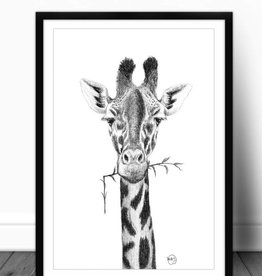 Le nid atelier Illustration - Giraffe