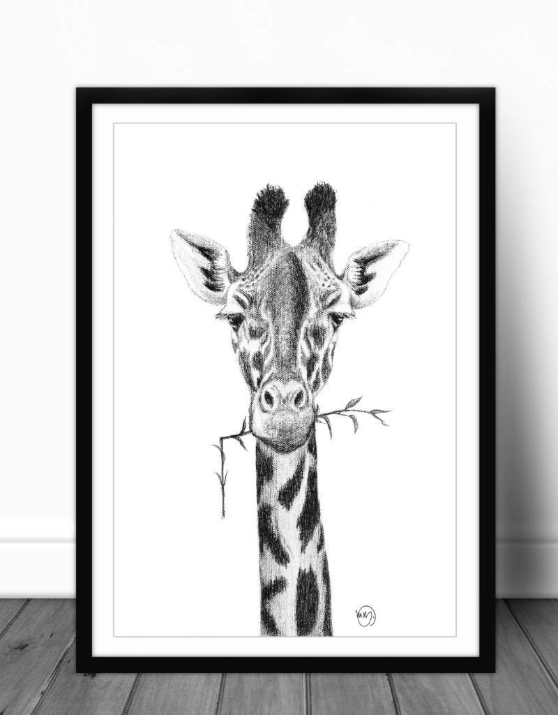 Le nid atelier Illustration - Girafe