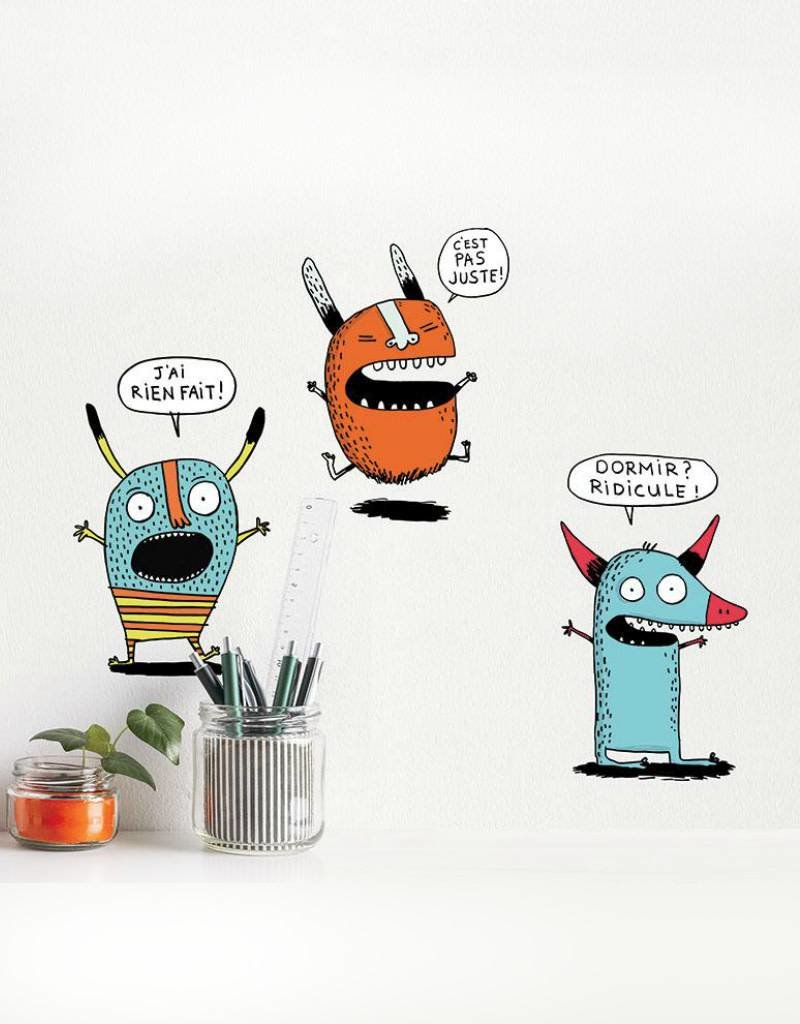 ADzif Wall decal - Elise Gravel - Monsters