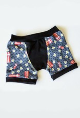 3 p'tits pois Boxer for children - Bacon