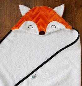babilles et babioles Baby bath towel - Fox - Large