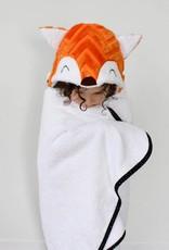 babilles et babioles Baby bath towel - Fox - Large