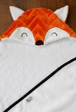 babilles et babioles Baby bath towel - Fox - Small