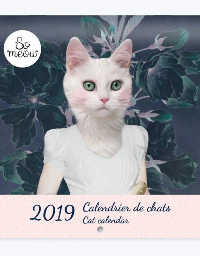 So Meow 2019 Calendar - Cat