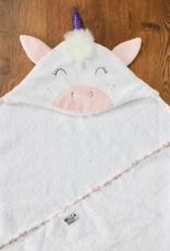 babilles et babioles Baby bath towel - Unicorn - Small