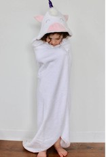 babilles et babioles Baby bath towel - Unicorn - Large