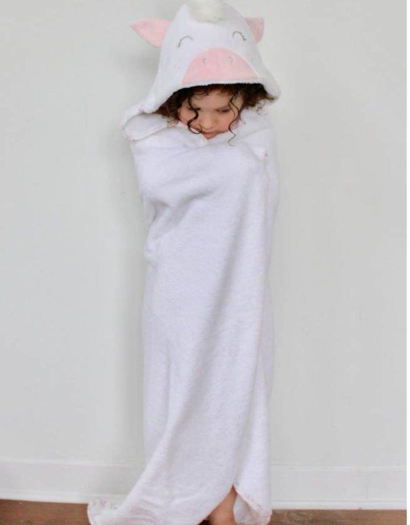 babilles et babioles Sortie de bain pour bébé - Licorne douillette -  Grand