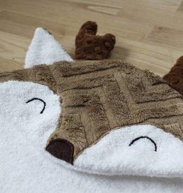 babilles et babioles Baby bath towel - Deer - Large
