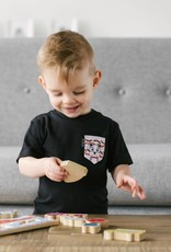 Poches & Fils Enfant col rond - Poche Chat Ferguson