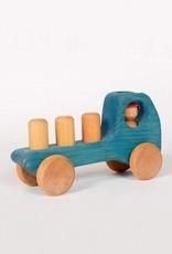 Atelier Cheval de bois Wooden Truck - Blue