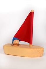 Atelier Cheval de bois Little wood sailboat