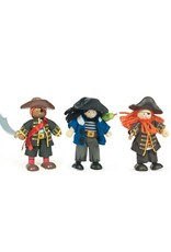 Le Toy Van Ensemble de personnage en bois - Pirates