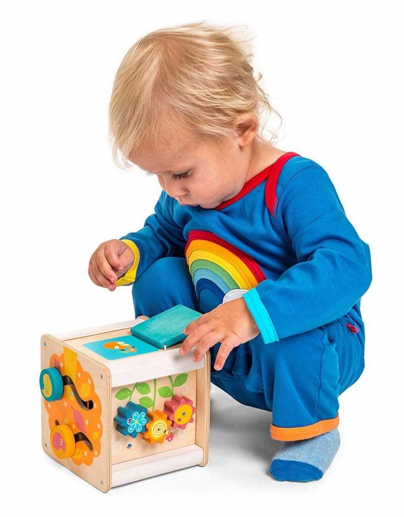 Le Toy Van Petit cube d'activité en bois