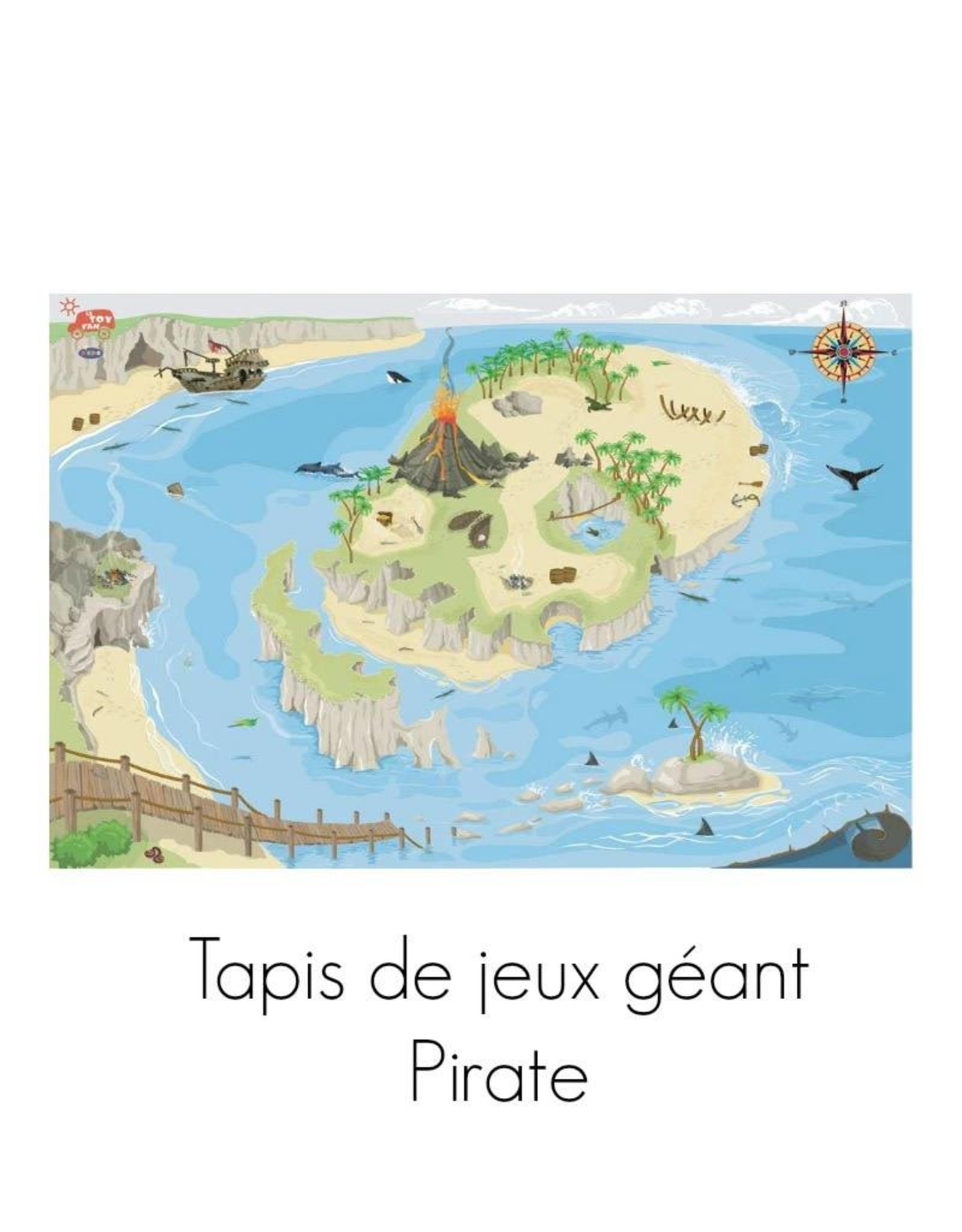 Le Toy Van Tapis de jeux géant - Pirate