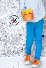 Atelier Rue Tabage Dr Clown - Coloriage géant