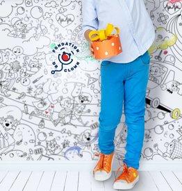 Atelier Rue Tabaga Dr Clown - Coloriage géant