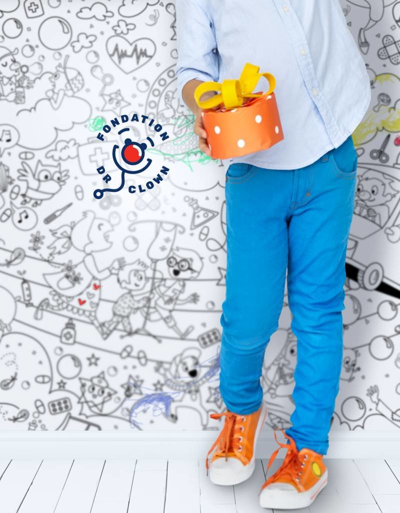 Atelier Rue Tabaga Dr Clown - Giant coloring