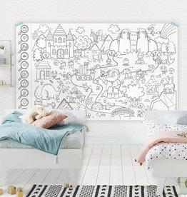 Atelier Rue Tabaga Forêt enchantée - Coloriage géant