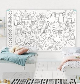 Atelier Rue Tabage Enchanted forest - Giant coloring