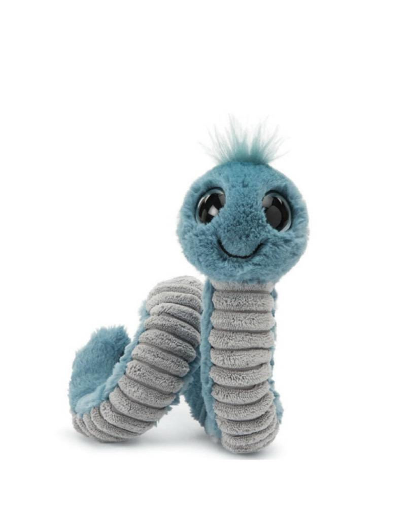 Jelly Cat Peluche Petit Ver bleu