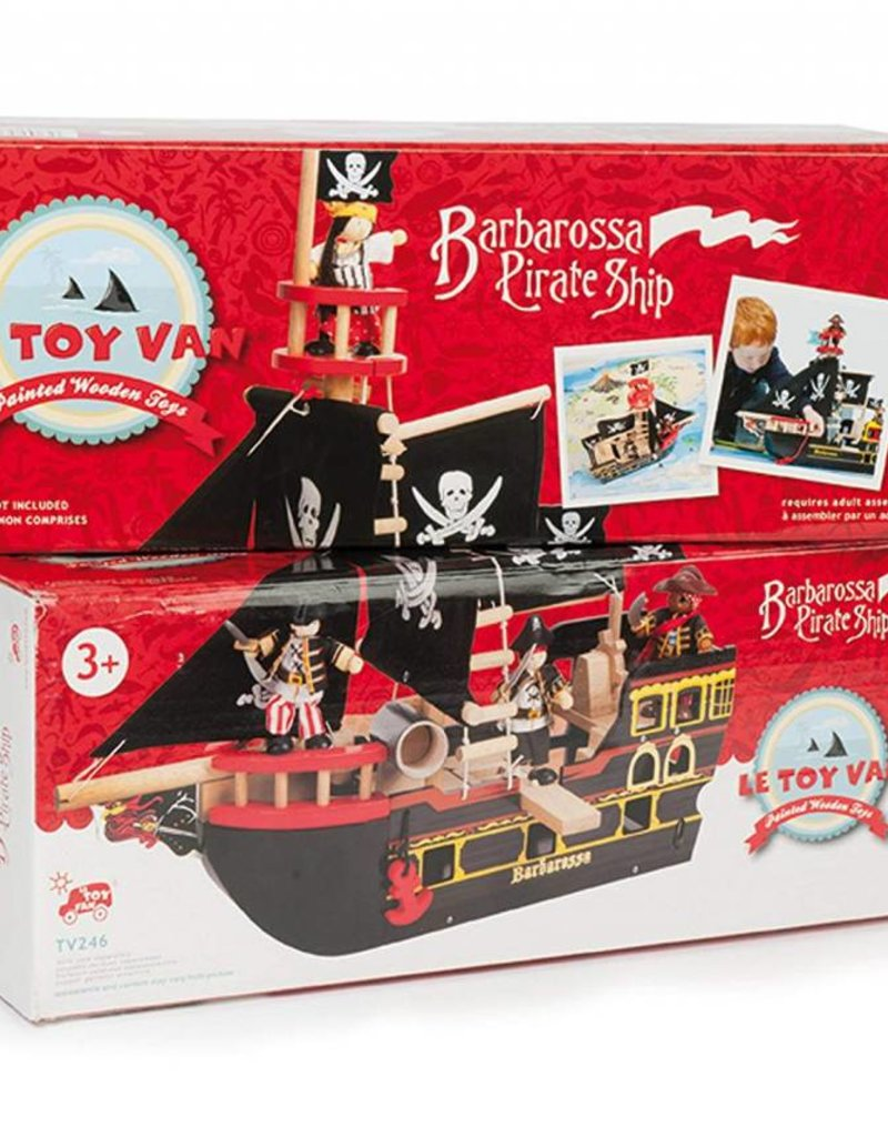 Le Toy Van Bateau pirate Barbossa