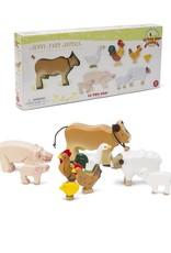 Le Toy Van Animaux de la ferme en bois