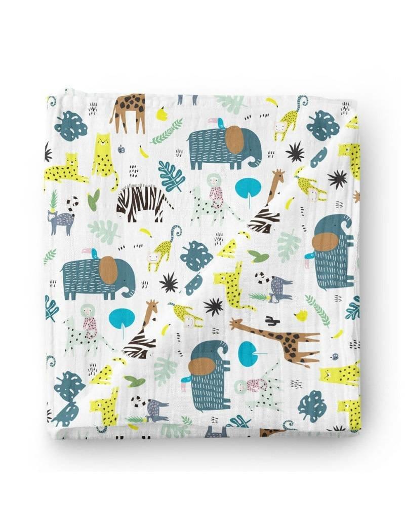 Olé Hop Bamboo blanket - Safari