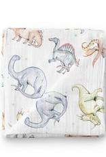 Olé Hop Mousseline Bambou - Dinosaure