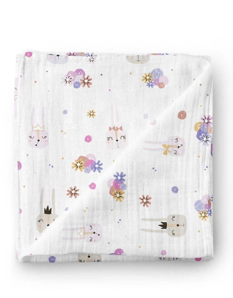 Olé Hop Bamboo blanket - Fairy Bunny