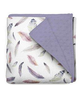 Olé Hop Minky Blanket -  Feathers