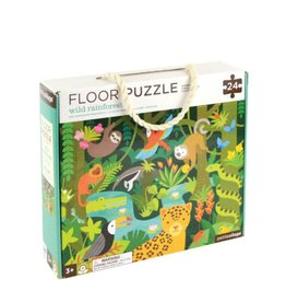 Petit Collage Floor Puzzle - Rainforest 3+